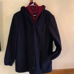 Pure wool Mackintosh vestcoat coat jacket 16 L